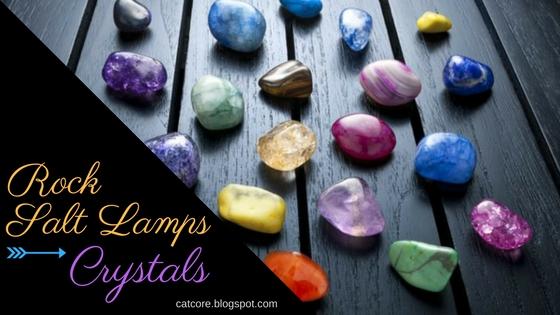 crystals rock salt lamps energy