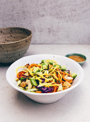 rainbow pad thai