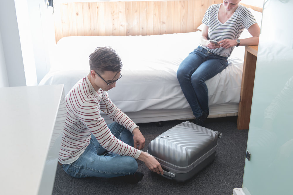 Luggage storage is available and free before check-in and after check-out. Overnight luggage requires a small fee per night.
