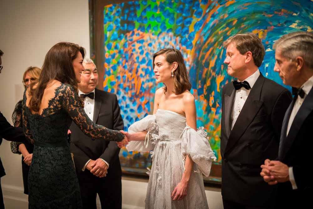 The Duchess of Cambridge and Alexa Chung introduced at the Portrait Gala 2017