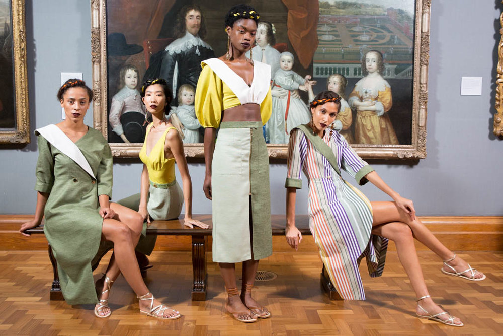 Tata Naka SS18 presentation at London Fashion Week