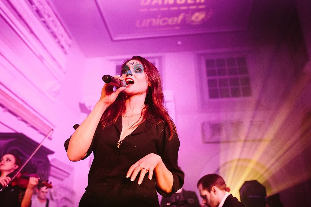 Sophie Ellis Bextor at Unicef Halloween at Aynhoe, 2017