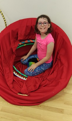 Amelia in the hula hoop nest.jpg