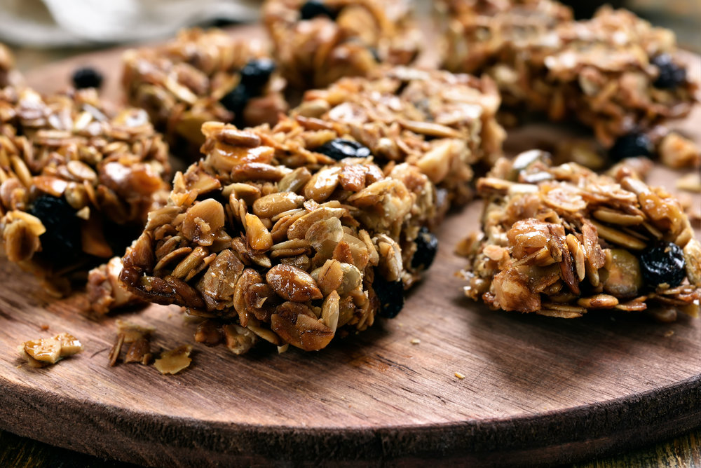 Superfood PB Chip Bars
