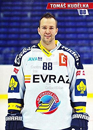 Tomáš Kudělka (Born March 10, 1987) is a Czech professional ice hockey defenceman