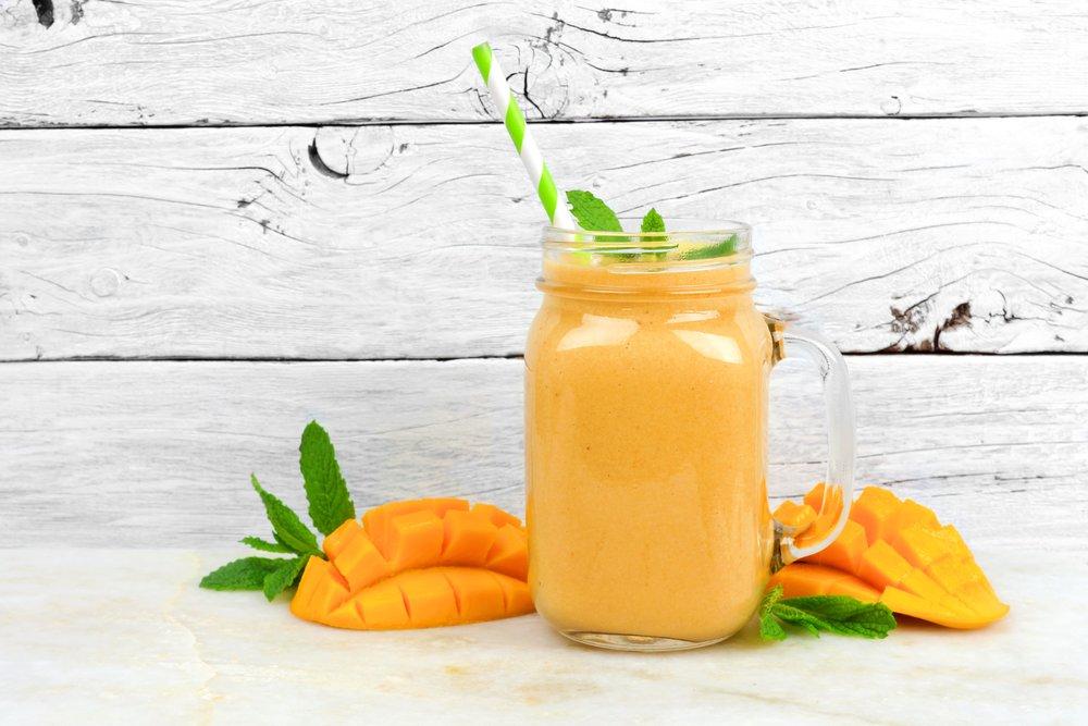 Mango Kefir Smoothie