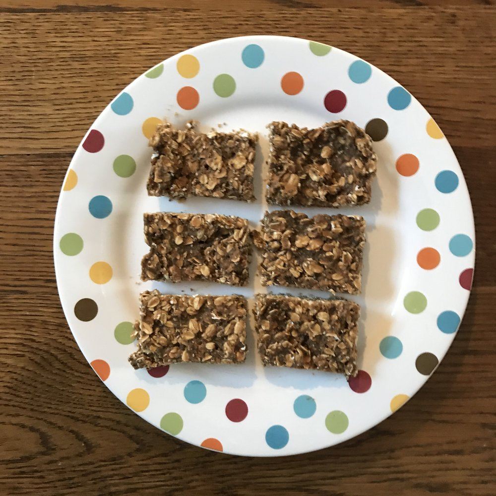 chia peanut butter bar