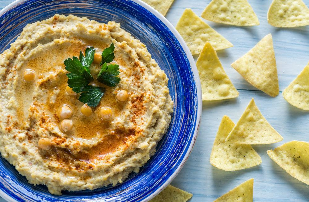 Hummus + Chips