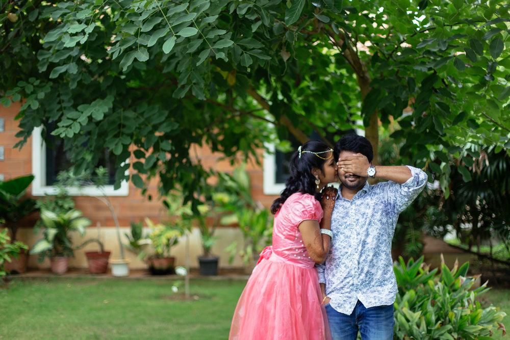 Deepak & Mithra's - Engagement