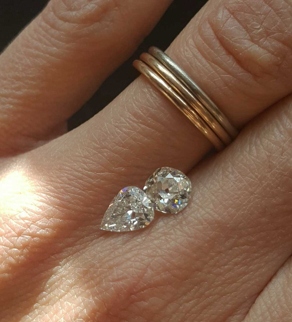Loose Diamonds sourced especially for your ring