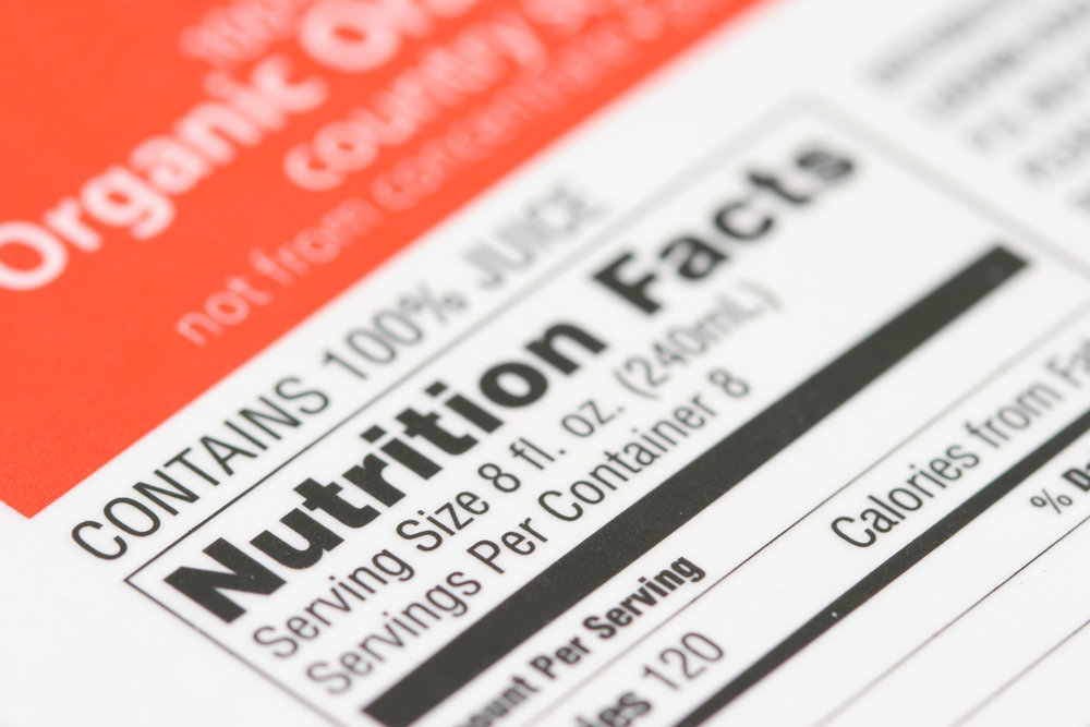 Food Labeling and Regulatory Support - Menu nutrition labelingFood package labelingRecipe analysis for cookbooks and websites
