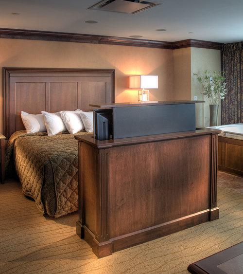 Seneca Allegany Hotel | Power TV Cabinet