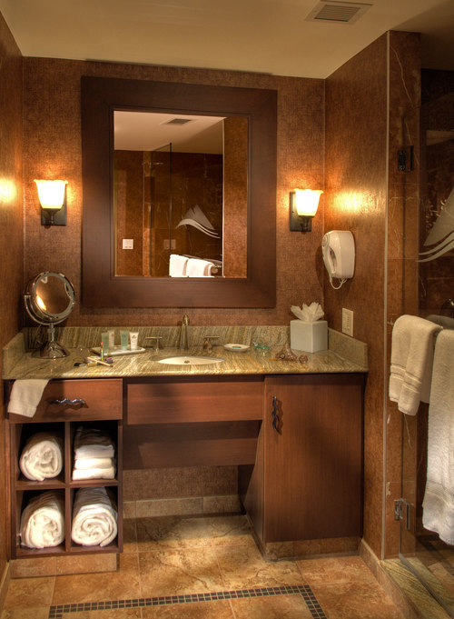 Seneca Allegany Hotel | Bathroom Vanity