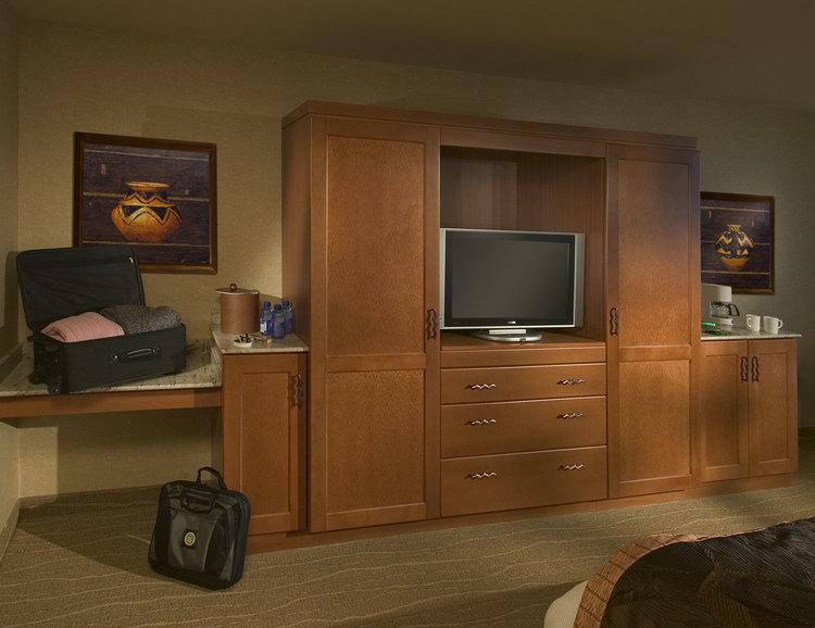 Seneca Allegany Hotel | TV Cabinet