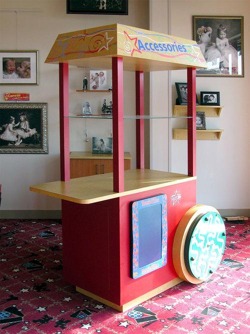 Celebrity Kids | Popcorn Cart