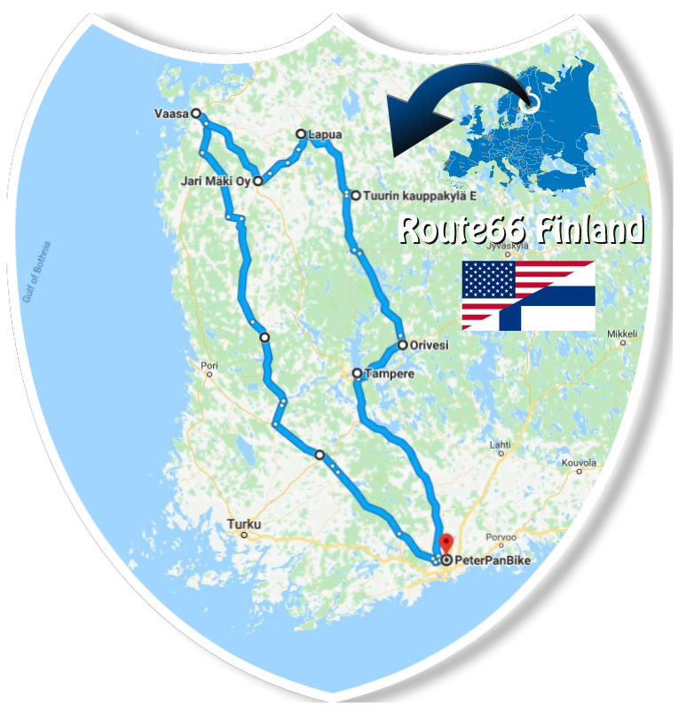 Route66 Finland Motorcycle tour!