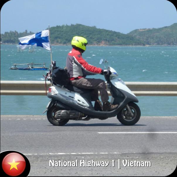 Highgway 1 Vietnam - Hanoi to HoChiMinh