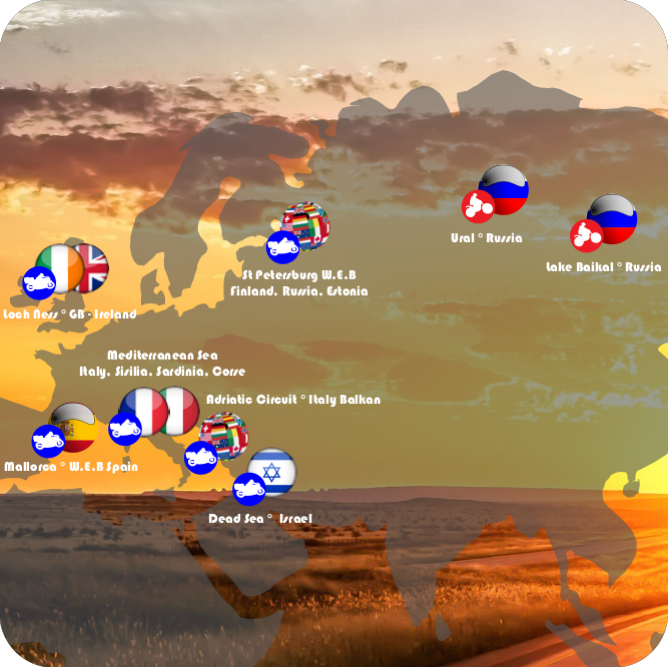 Motorcycle tours to Europe & Russia!