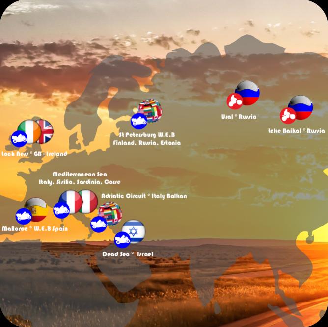 EUROPE & RUSSIA - 5 -16 days
