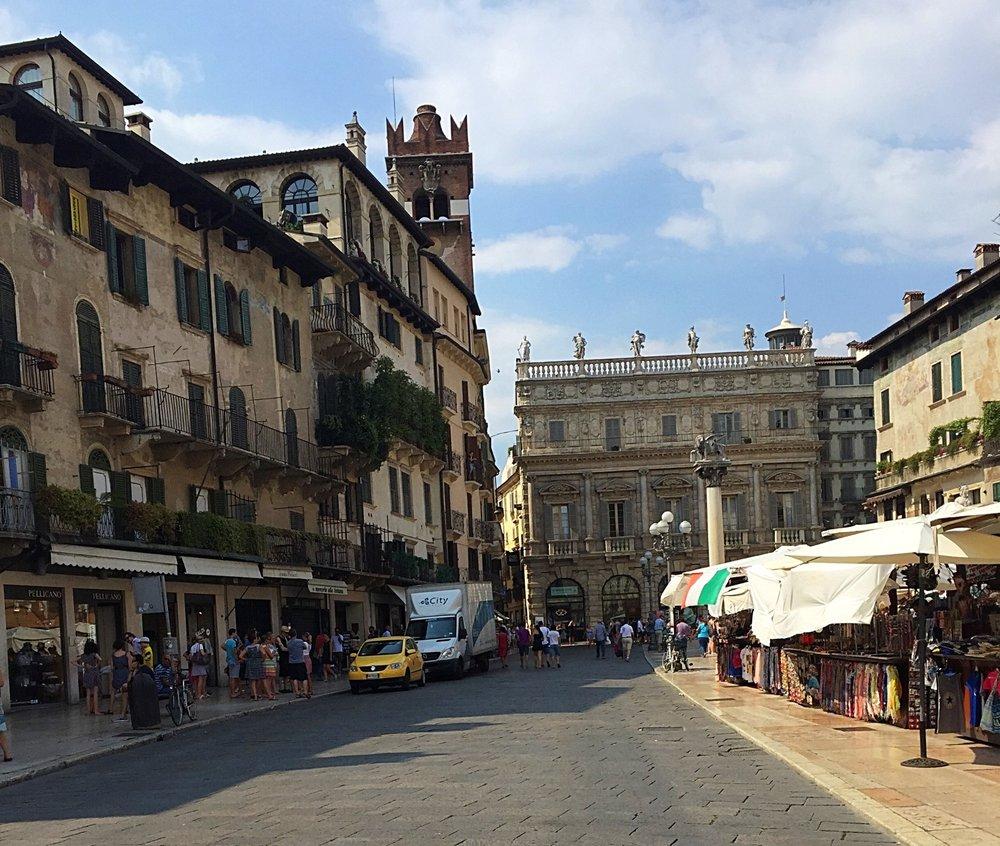 Piazza Erbe (Market Square)