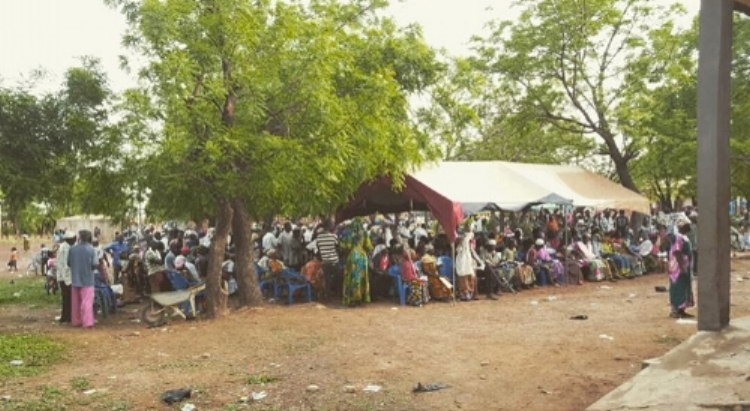 Day one: 1000 patients registered and waiting for dental treatment