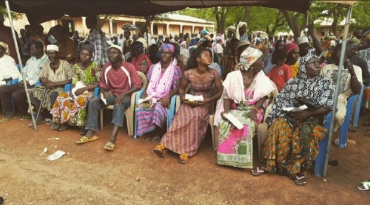 Patients seated and waiting their turn for dental treatment