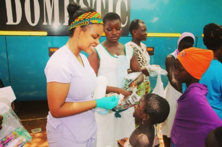 Dr. Rasheeda Johnson loves the kids!