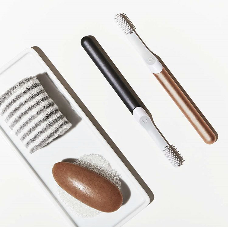 Sleek, stylish and affordable electronic toothbrush. Get a FREE refill brush head with your first purchase  here.