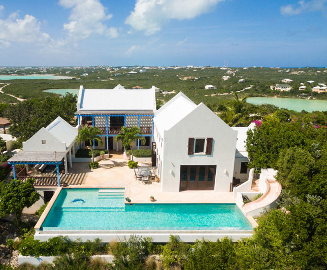 Aerial View of our Villa