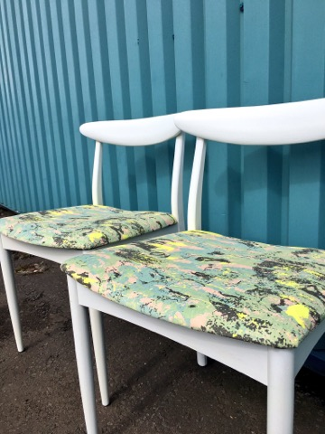 Some chairs recently up cycled which will be up on the Shabby Chic for sale soon!!