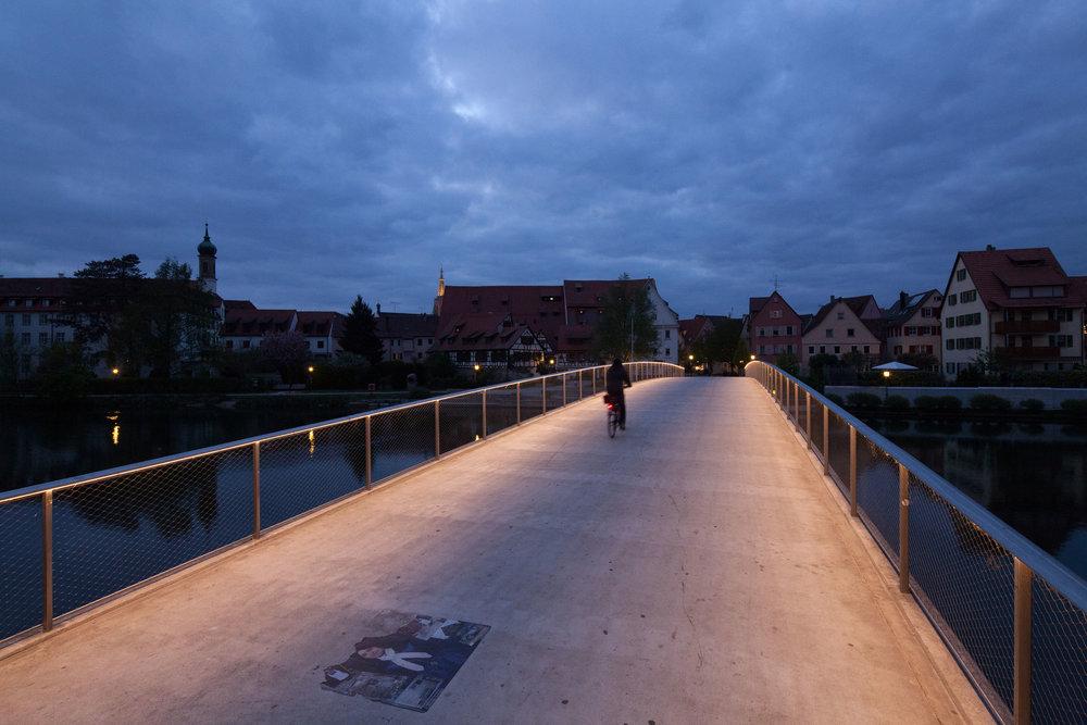 Josef-Eberle-Brücke, Rottenburg am Neckar