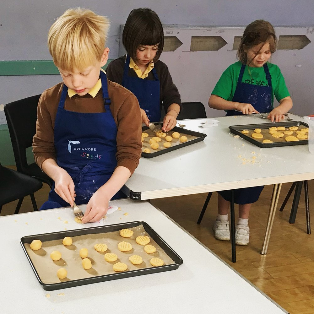 Sycamore Seeds Children's Cooking Lessons