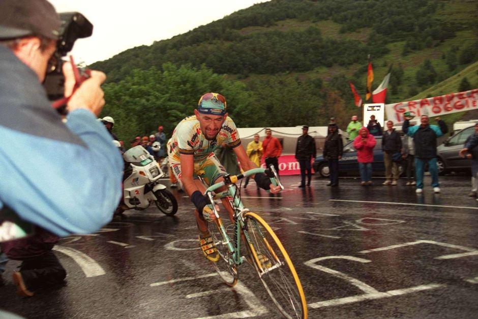 Pantani's famous 1998 victory on Les Deux Alpes