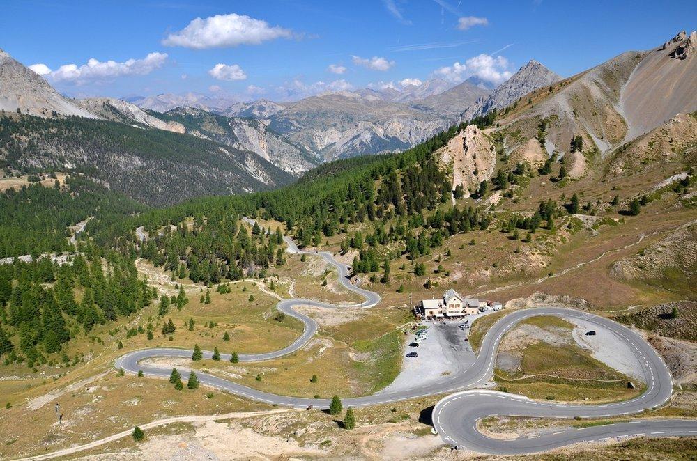 Col d'Izoard up from Briançon