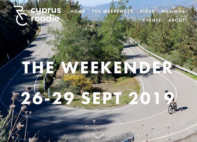 Exciting new venture for us as we launch our new four-day cycling holiday here in Cyprus. Designed for cyclists by cyclists it's aimed at anyone looking for a few days of challenging riding in the sun. Our first CyprusRoadie Weekender takes place this September. To find out more click on the link in our bio. . .  #Weekender #Cyprus #whereweride #roadsweride #instacycling #roadbikelife #cyclinglife #roadbike #cyclingtour #cyclingvacation #roadcyclist #cycliste #ridelots #newbusiness #Troodos #roadslikethese #travel #tourism #hospitality #holidays