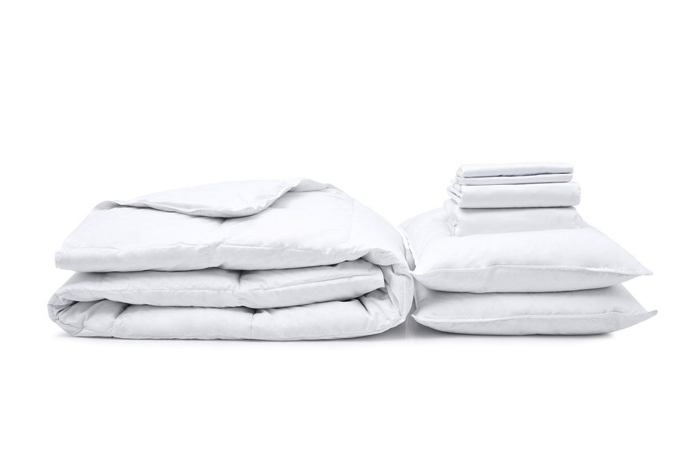 Move-in Set - All the bedding, duvet and pillows you need for a fresh start. Starting at £160.