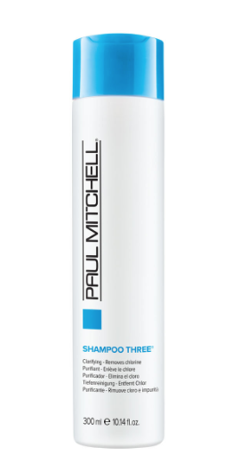 Paul Mitchell Shampoo Three - Chlorine green? NO THANKS! This shampoo cleanses hair of impurities, including chlorine - perfect for swimmers!
