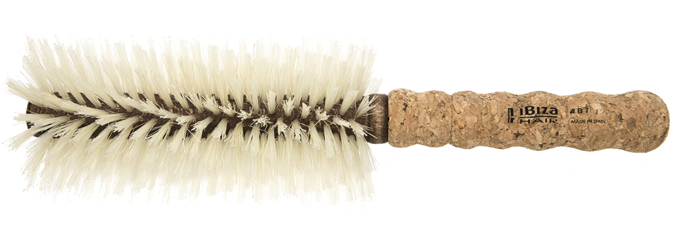 ibiza hair b7 - THE IBIZA HAIR B7 BRUSH - €57This all-star brush has styled the heads of almost every celeb in la la land including Kim Kardashian, and most recently Rosie Huntington Whiteley for Paris Fashion Week!The long narrow barrel allows you to style and smooth big sections quickly. The blonde bristles leave the hair incredibly shiny and are gentle enough to use on fragile or damaged hair and extensions.