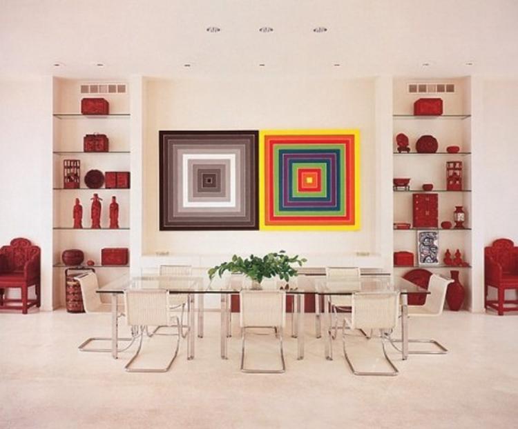 Frank-Stella-dining-room-by-Richard-Himmel-via-Architectural-Digest.jpg