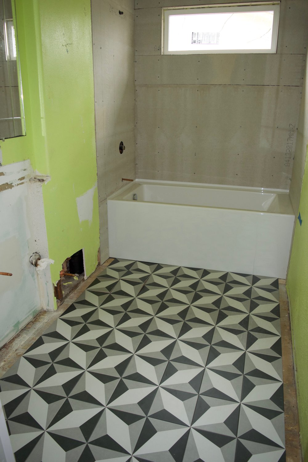 Cement Vs Ceramic Tile Why We Chose Ceramic For Our Bathroom