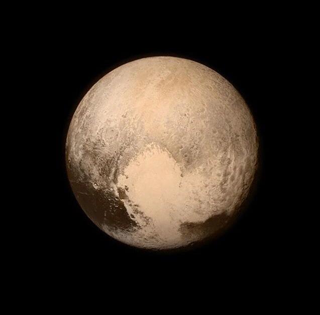 Pluto    Image credit: NASA via:  http://instagram.com/iss