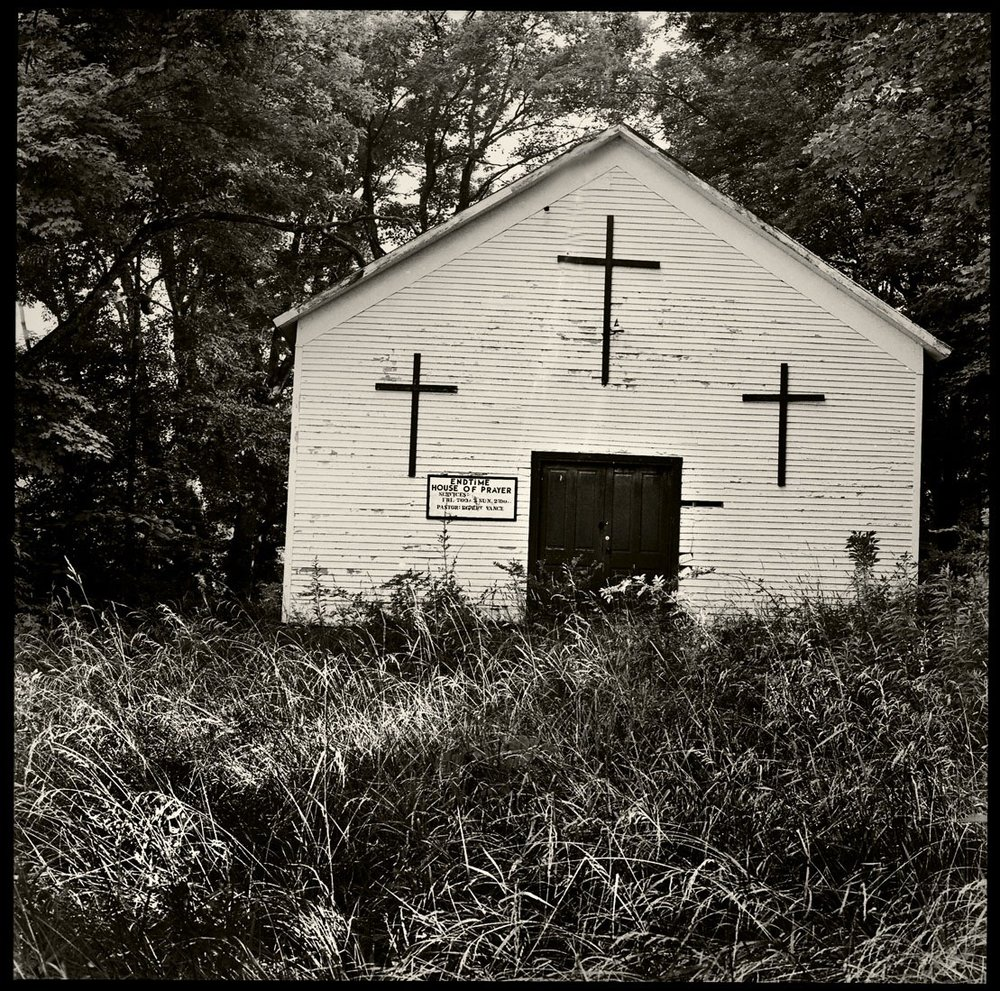 Endtime House of Prayer  in Jackson County, OH.  Photograph by  Dallas Sells