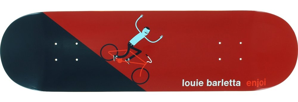 Louie Barletta - Enjoi x Jim Houser Skateboard Deck