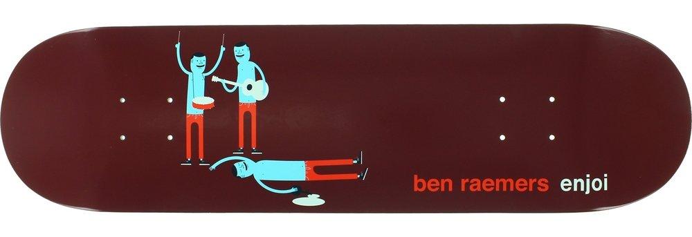"Enjoi Skateboards Ben Raemers Enjoi x Jim Houser Skateboard Deck Resin-7 - 8.25"" x 31.7"""