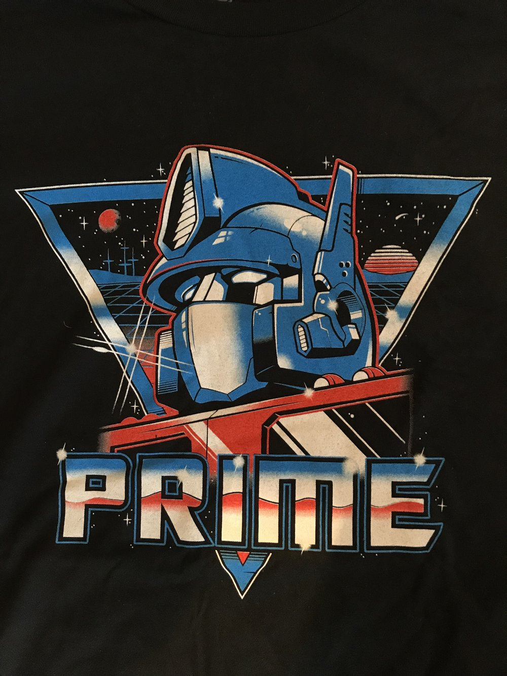 Optimus Prime Geek Fuel exclusive t-shirt