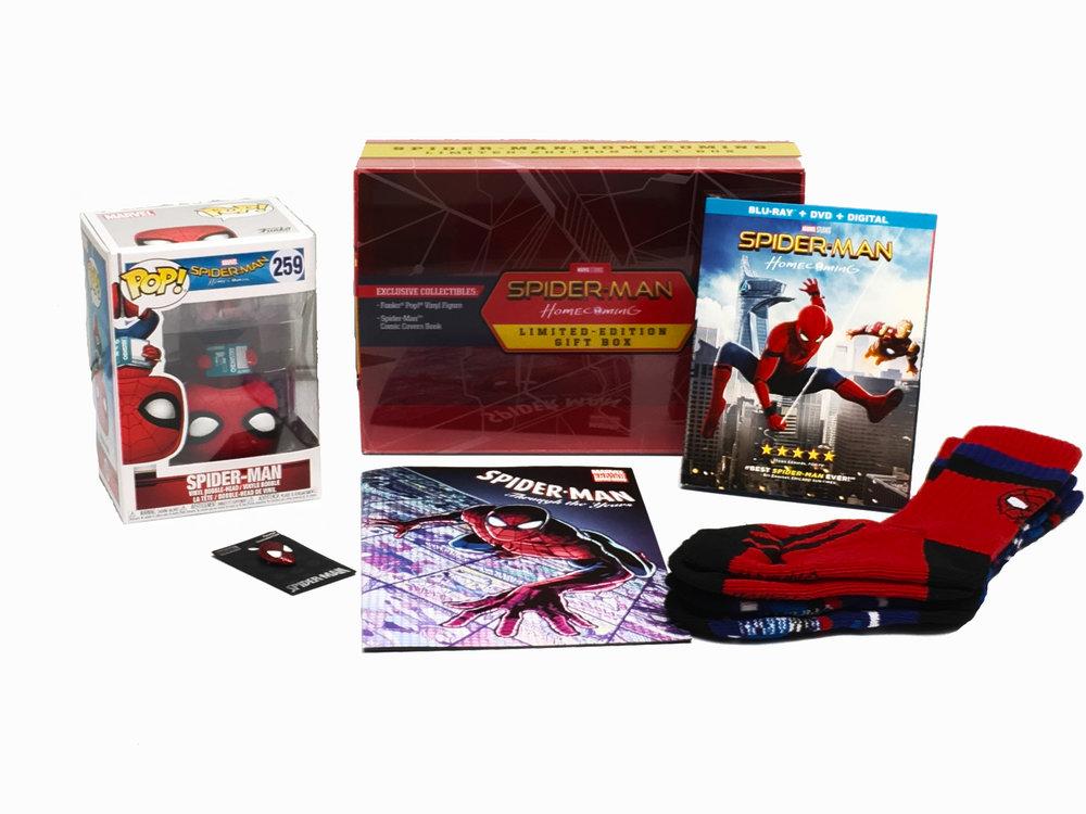 Spider-Man collectors set items