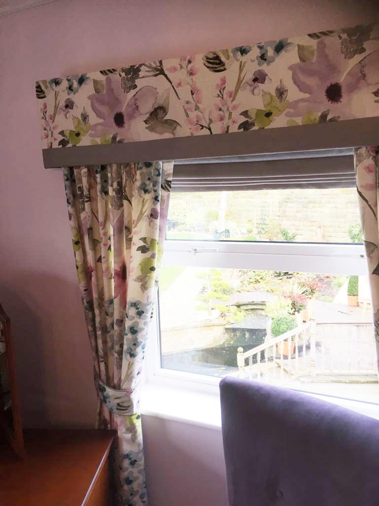 Bespoke floral curtains nottinghamshire