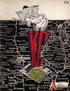 1955 ATHLETICS YEARBOOK