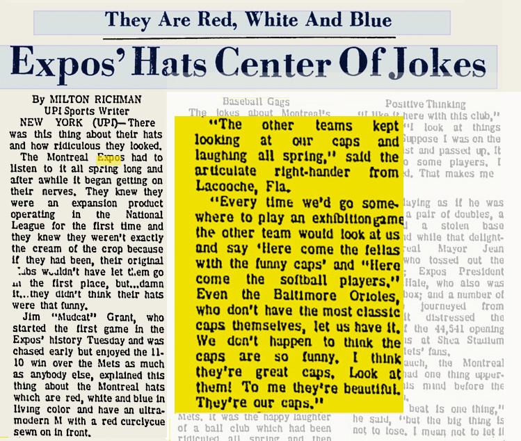 EXPOS CAPS_1969_