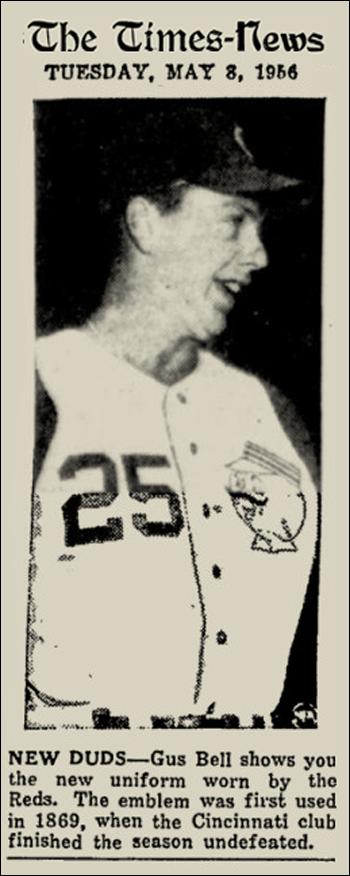 1956 REDS UNIS